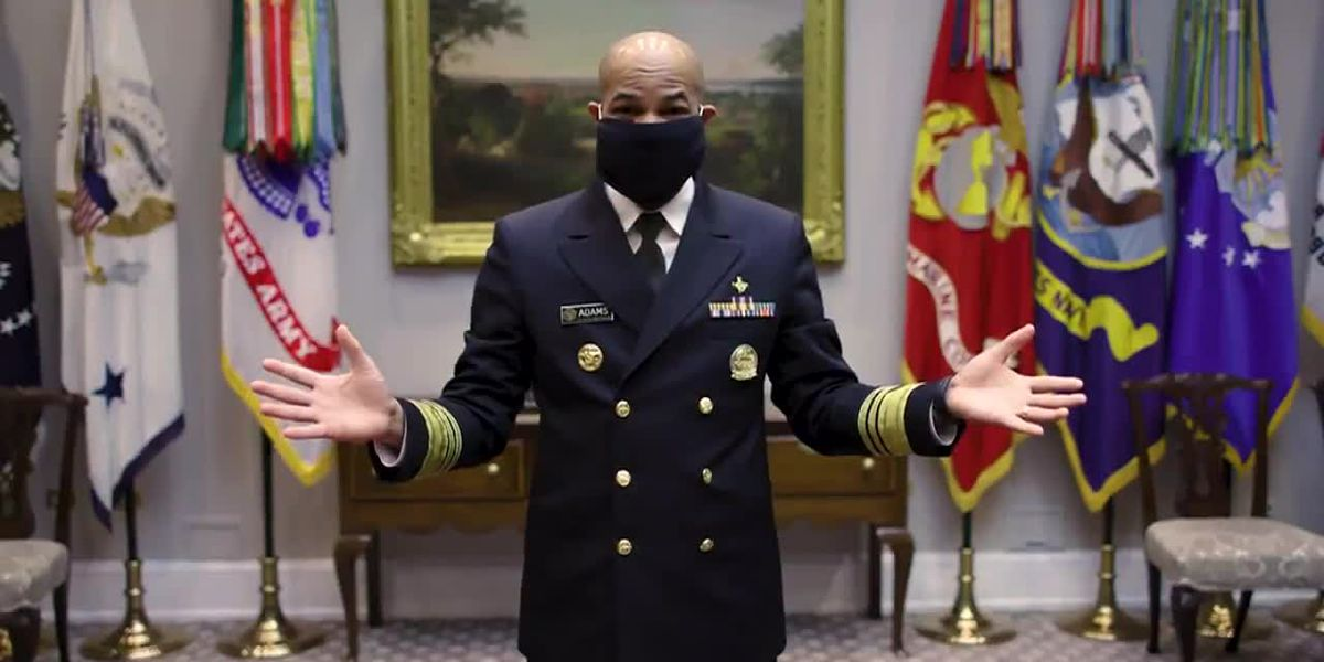 Surgeon general releases video demonstrating how to make face masks