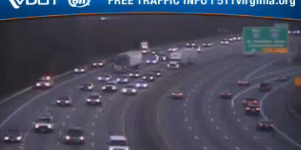 TRAFFIC ALERT: Multi-vehicle accident on I-95S in Richmond