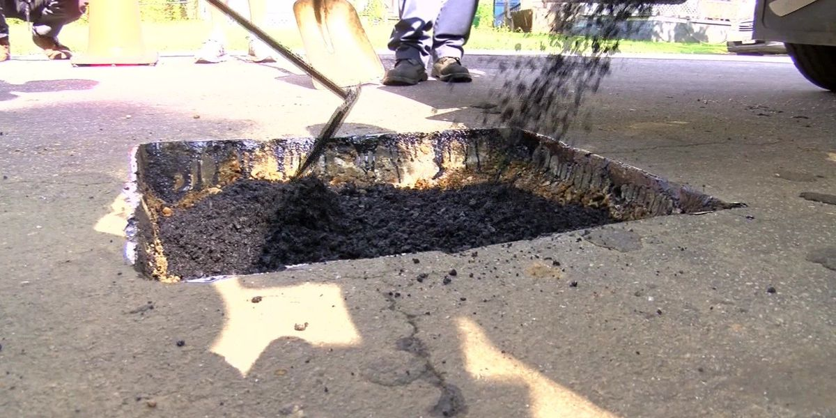 Crews prepare for first round of post-snow potholes in Richmond