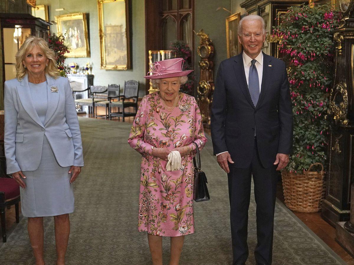 Queen Elizabeth hosts Bidens at Windsor Castle