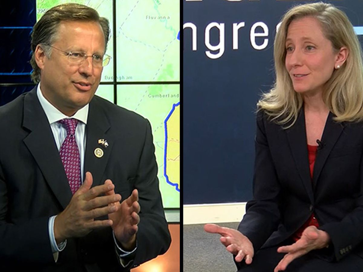 Dave Brat and Abigail Spanberger face off in Congressional debate