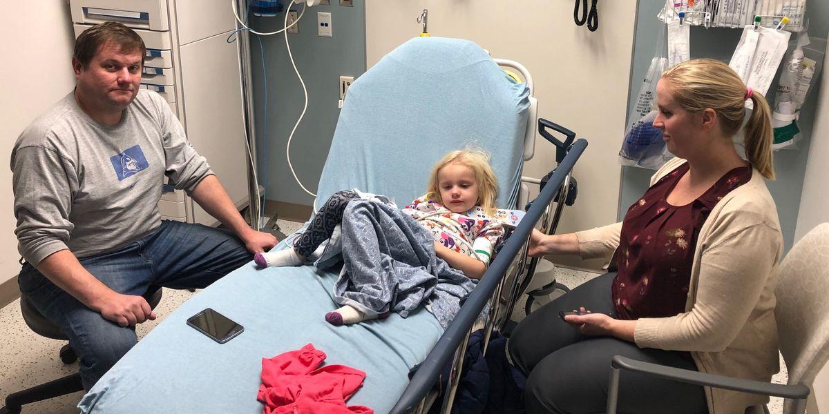 'Worst dreams comes true': 4-year-old breaks collar bone in bus crash
