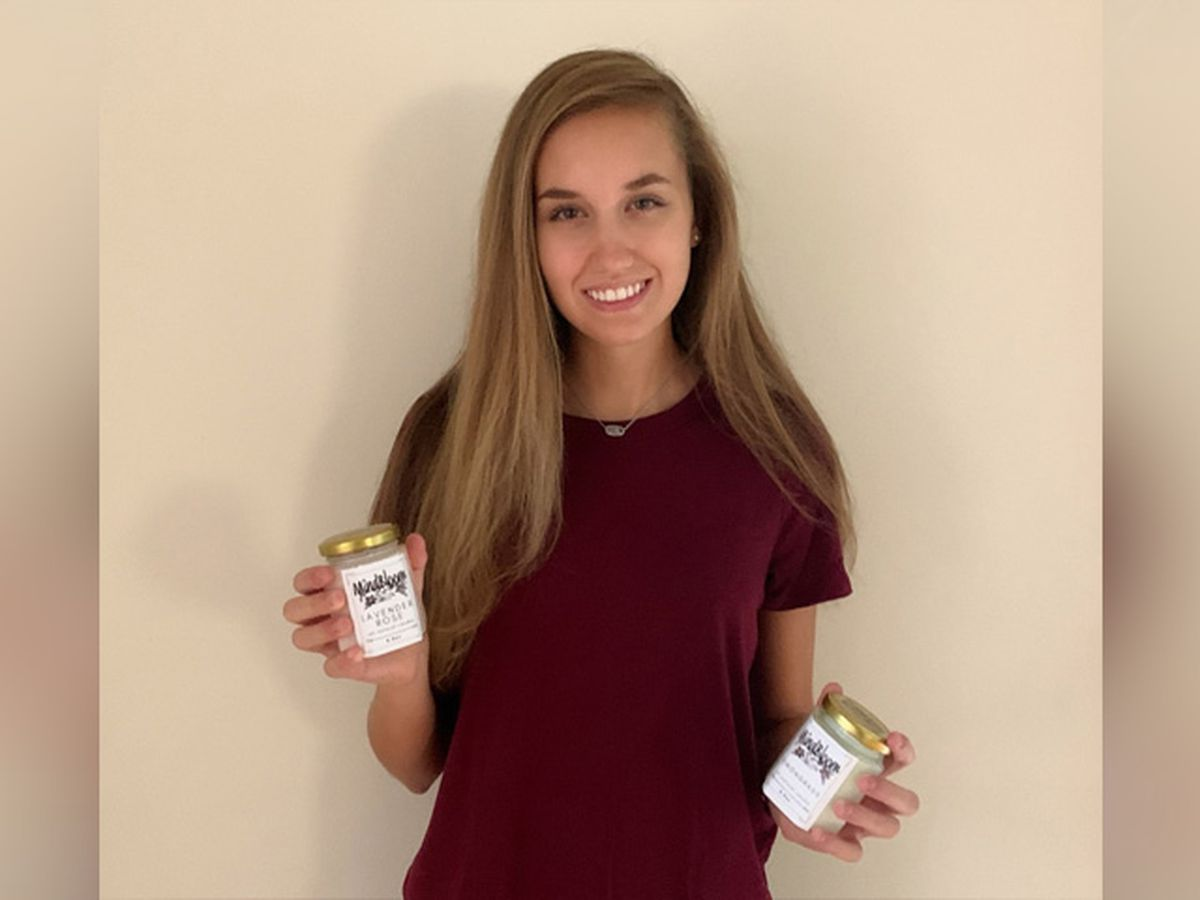 Henrico teen makes, sells candles to benefit mental health organization