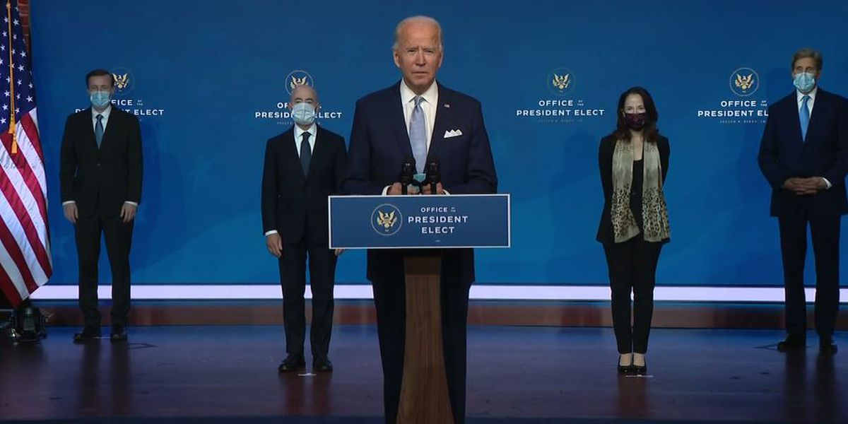 Biden's pick for intelligence chief says agencies have no room for politics