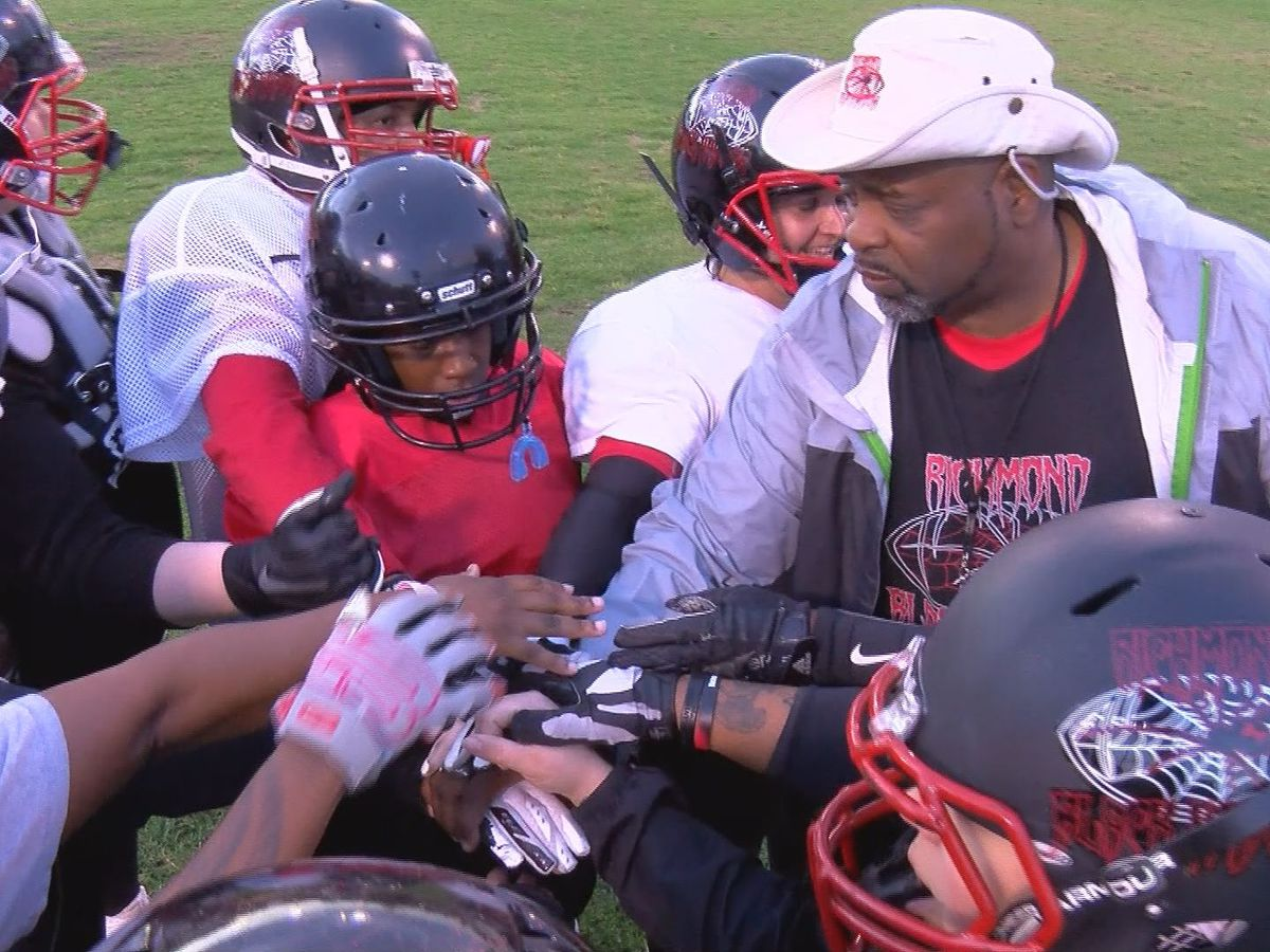 Richmond Black Widows give females full contact football experience