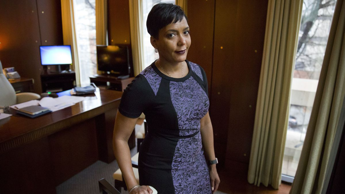 In surprise, Atlanta Mayor Bottoms won't seek a second term