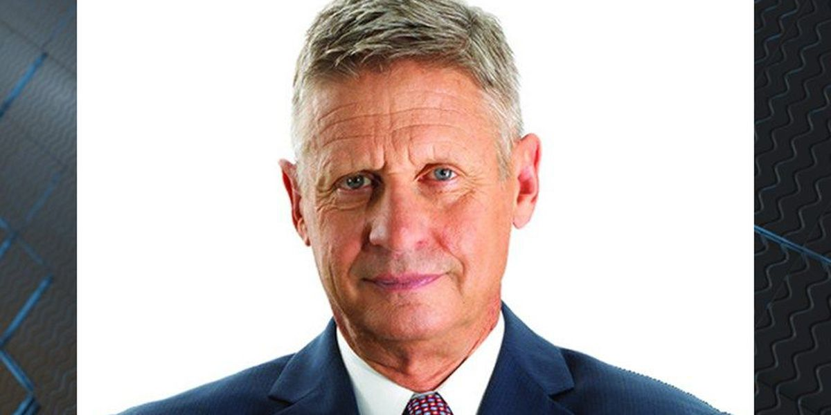 Libertarian presidential candidate Gary Johnson to stop in Richmond on Monday