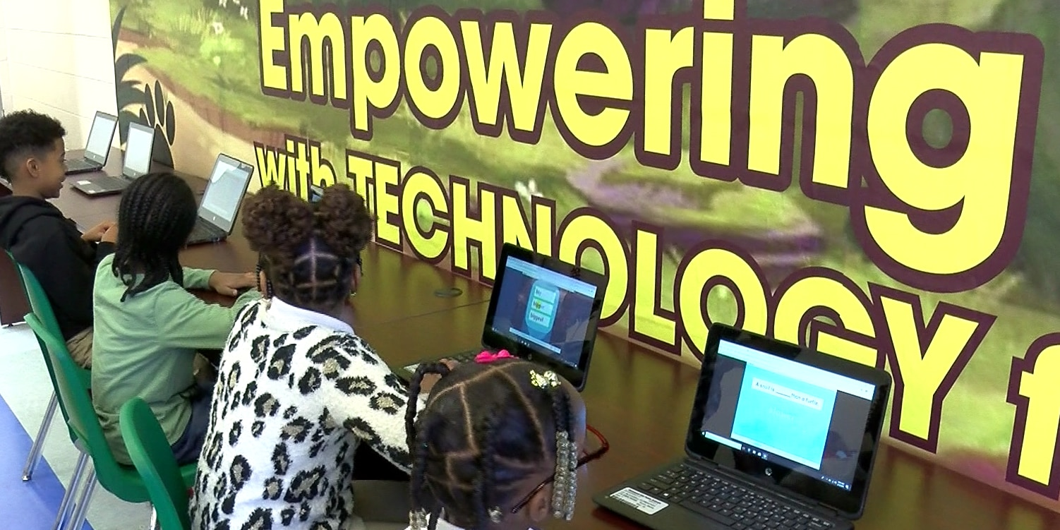Richmond elementary school gets 'unique makeover' with 24 new laptops