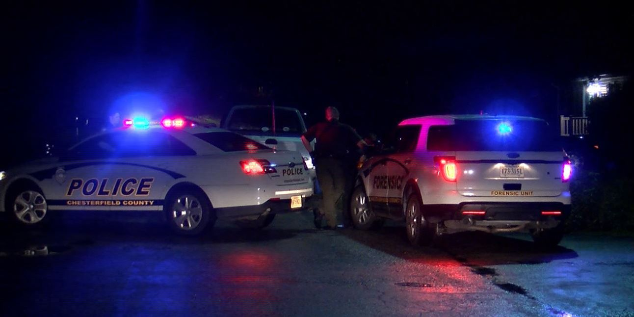 2 homes struck by gunfire in Chesterfield