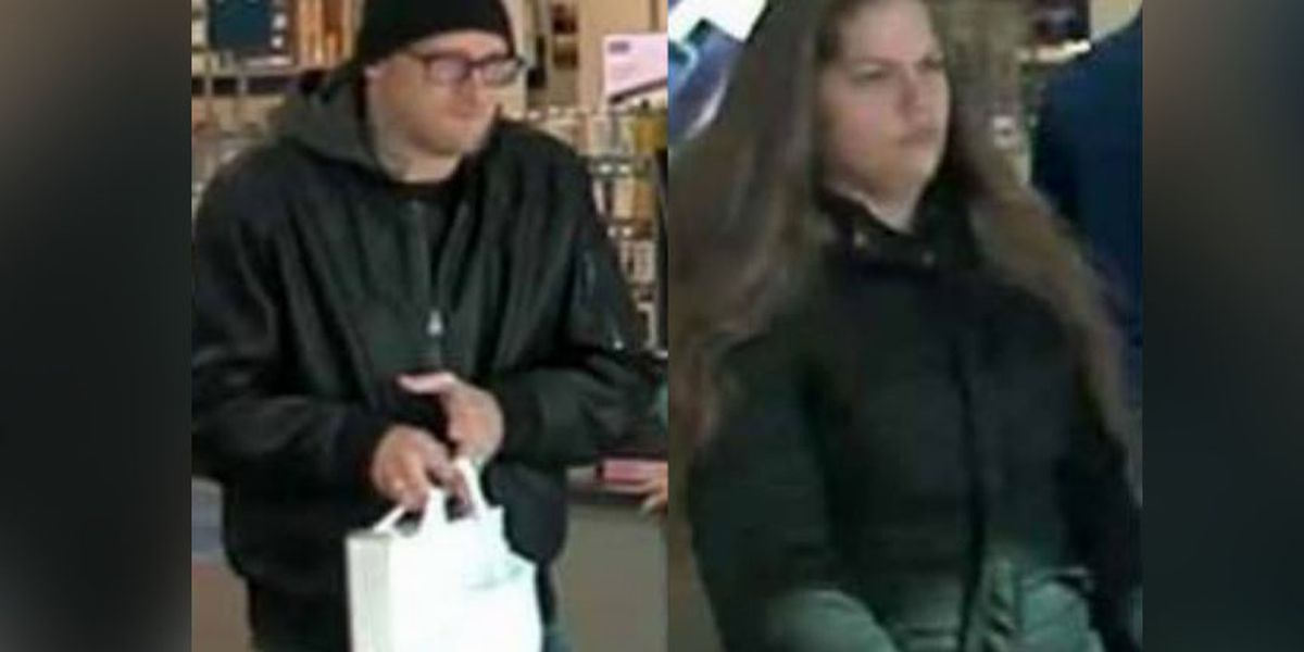 Police: Man, woman sought in Fredricksburg credit card theft