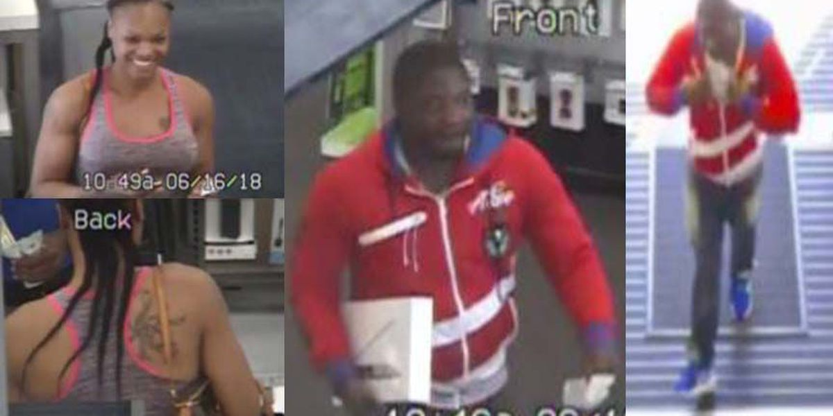 Sheriff: Suspects break into car, use stolen credit cards