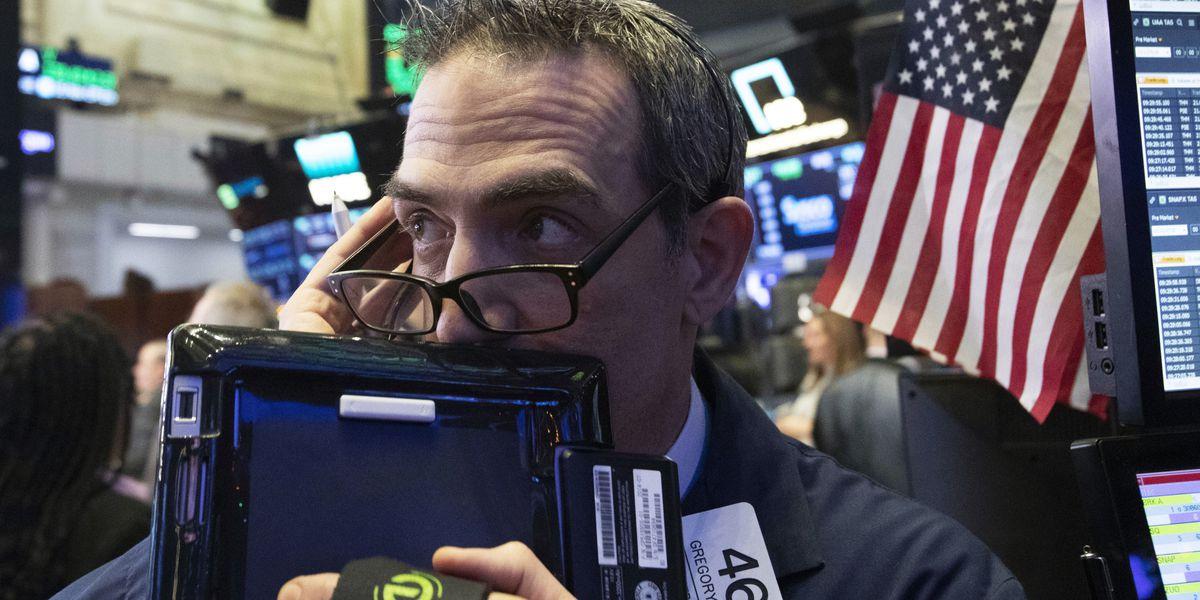 US and European stocks dip again as health companies fall