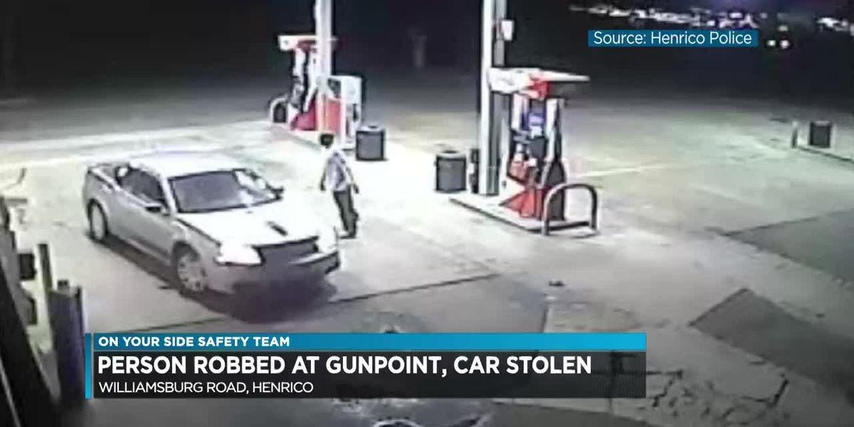 Person robbed at gunpoint, car stolen