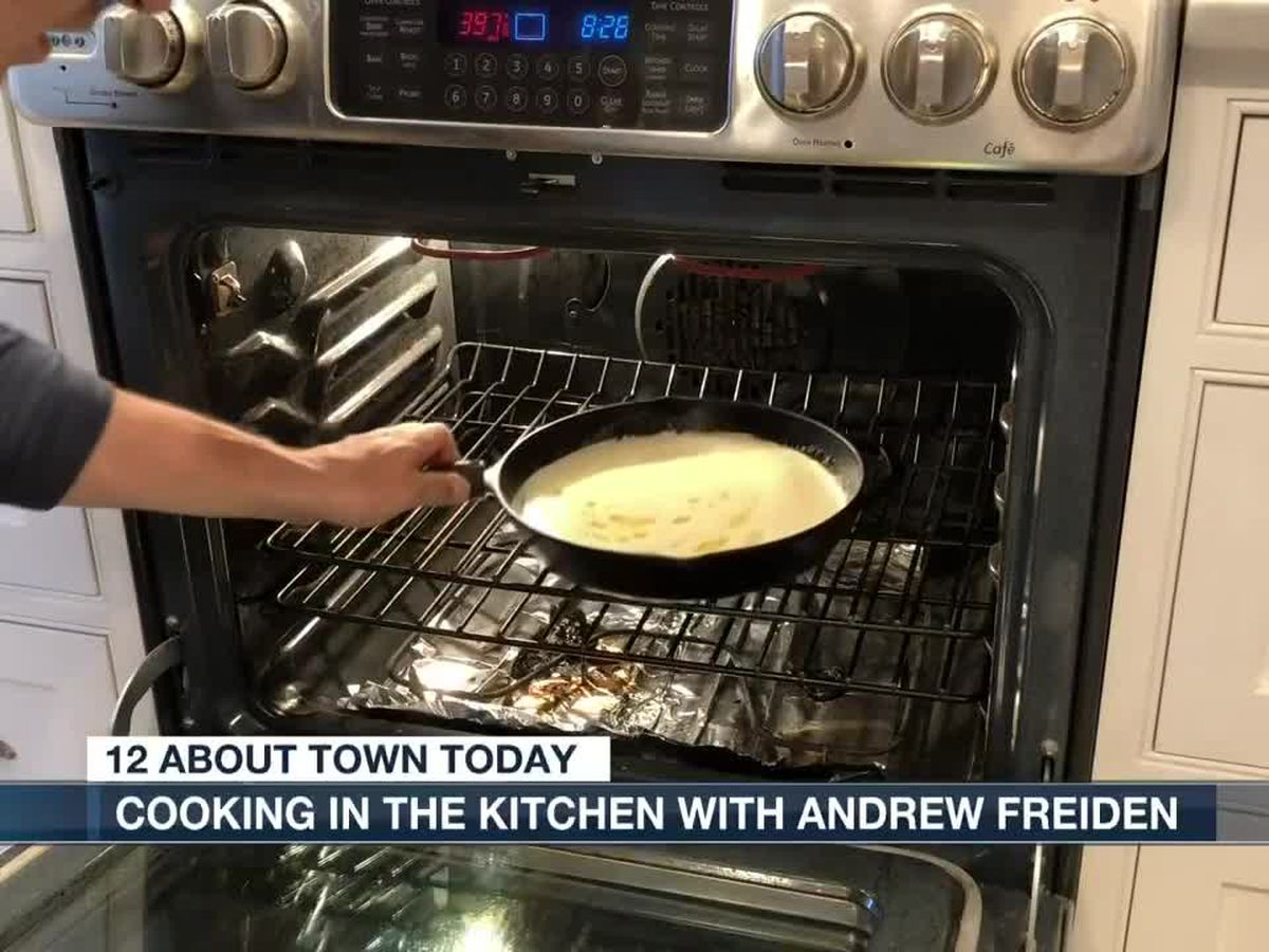 "Meteorologist Andrew Freiden shares his ""Sunday Morning"" pancake recipe"