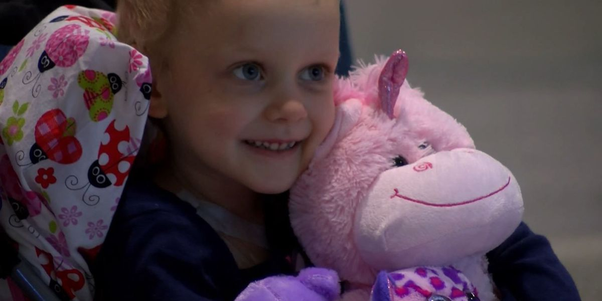 4-year-old Virginia Rose loses battle with cancer