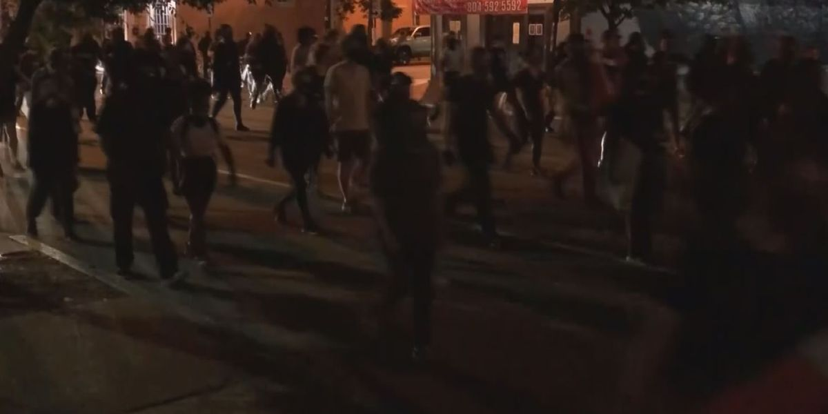 Monument Avenue residents upset over noise, threatening chants after midnight