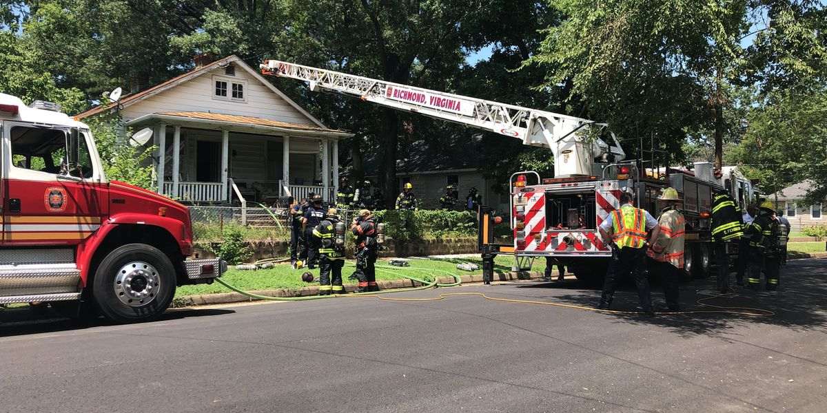 Air conditioner causes fire at Richmond home
