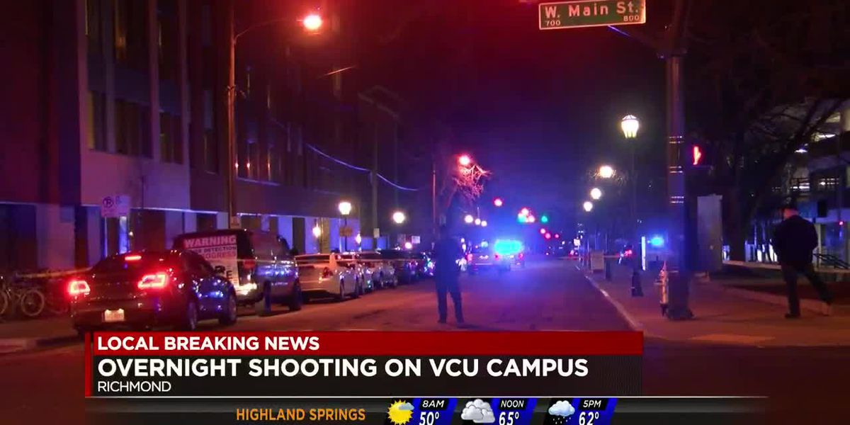 Man shot at VCU