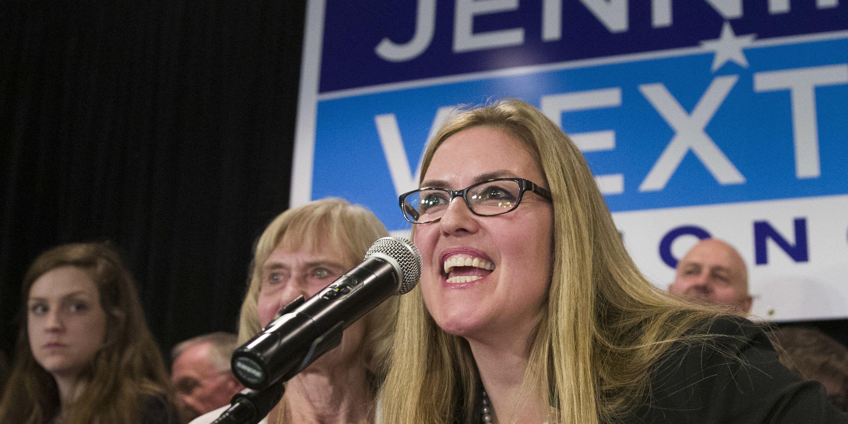 Democrat Jennifer Wexton defeats two-term Republican incumbent Barbara Comstock