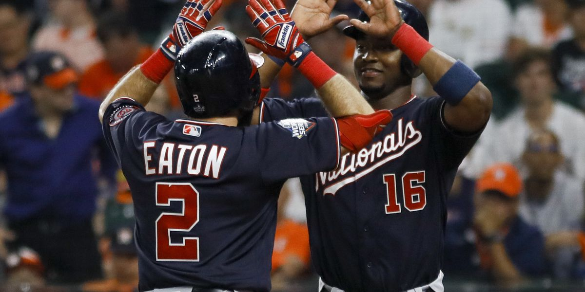 Nationals dominate Astros, take 2-0 World Series lead