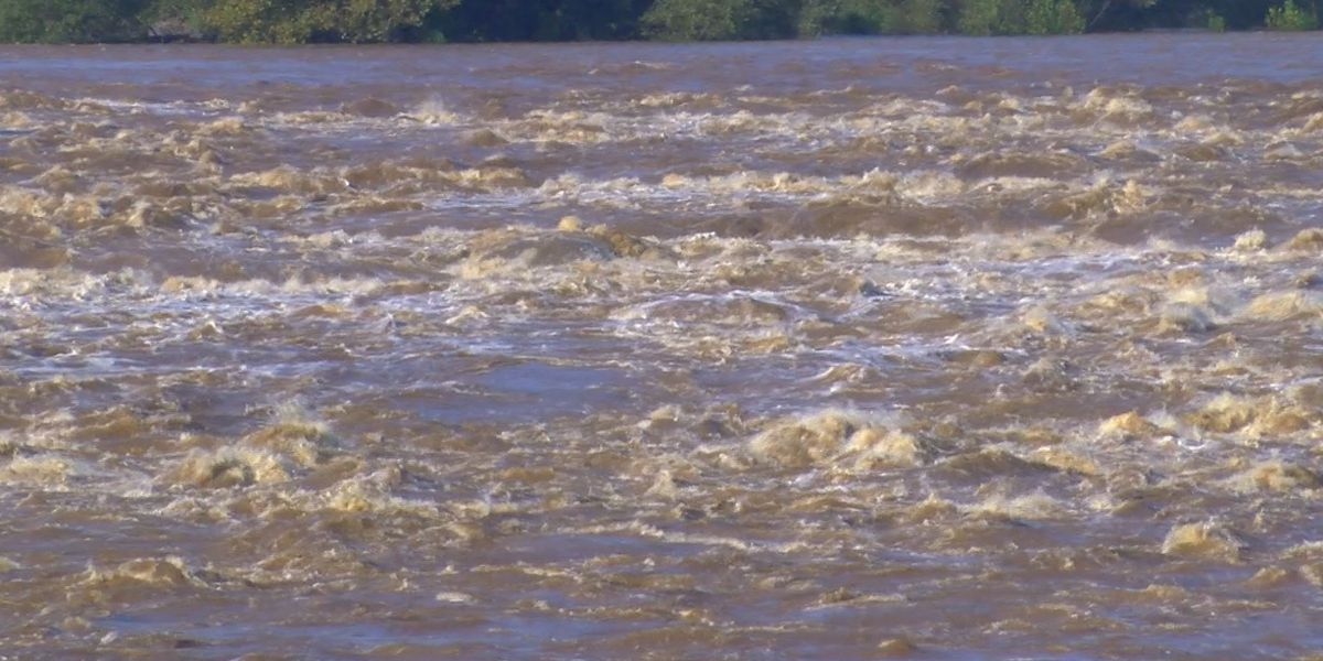 James River expected to reach moderate flood stage Wednesday