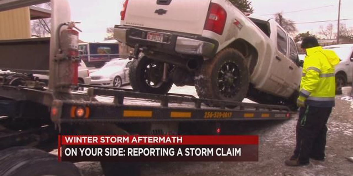 On Your Side: Reporting a winter storm insurance claim