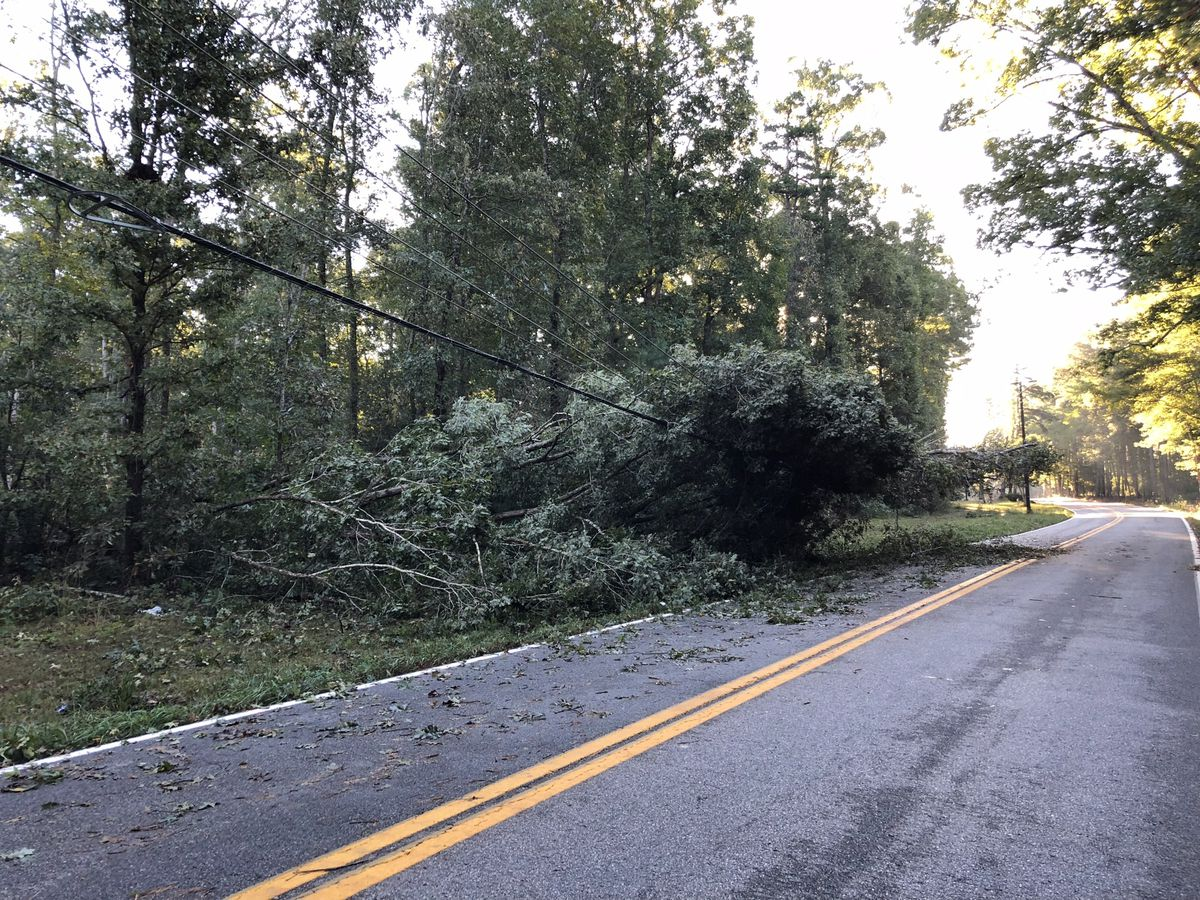 4,300 in Richmond area still without power