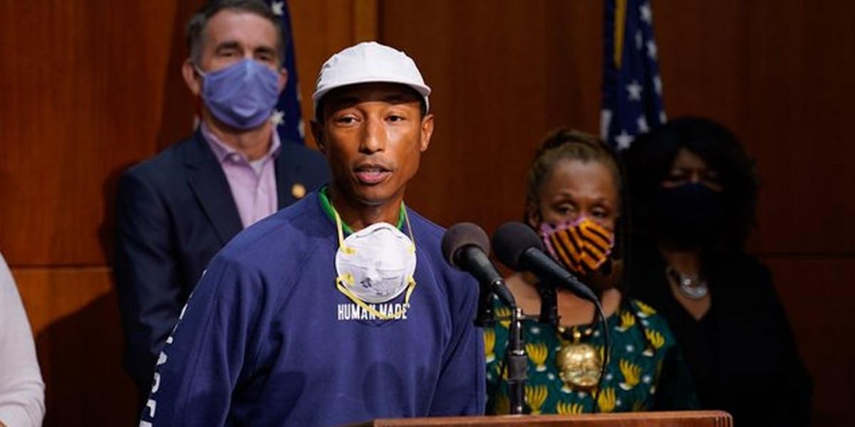 'It needs to be broken': Pharrell Williams launching Norfolk private school