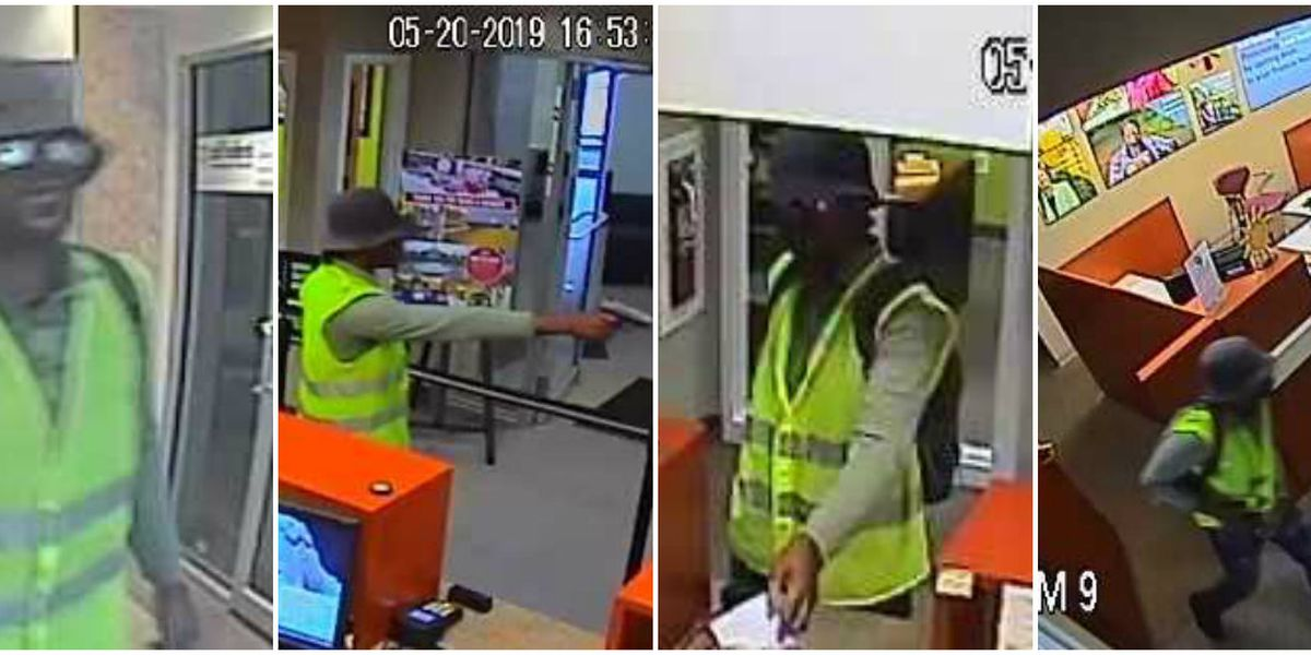 $10,000 reward offered for bank robbery suspect