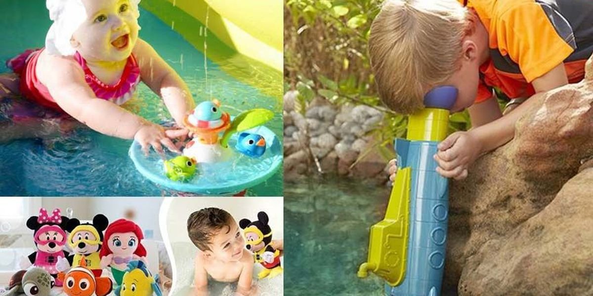 7 cool pool toys for kids