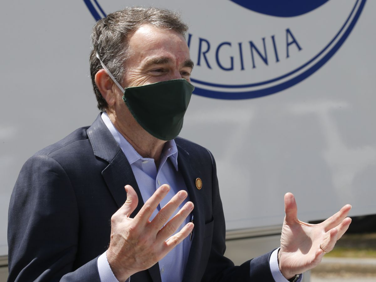 Gov. Northam announces statewide mask mandate to begin Friday
