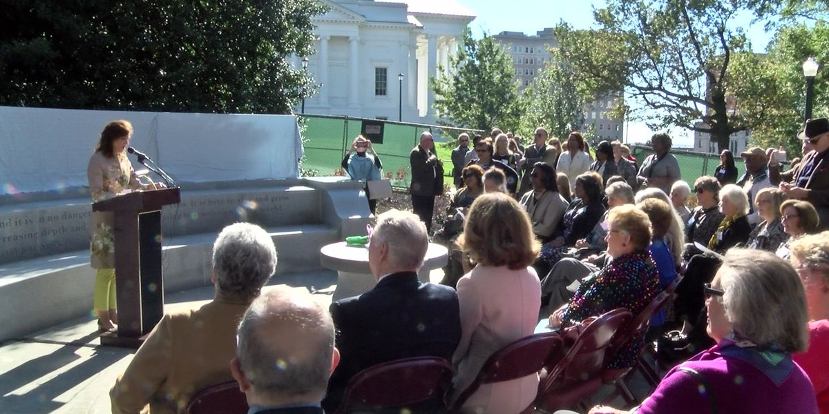 Virginia Women's Monument to be completed by early 2020