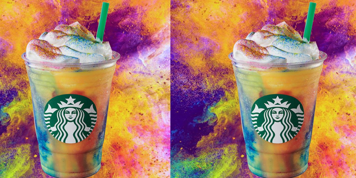 Starbucks rolls out new Tie-Dye Frappuccino