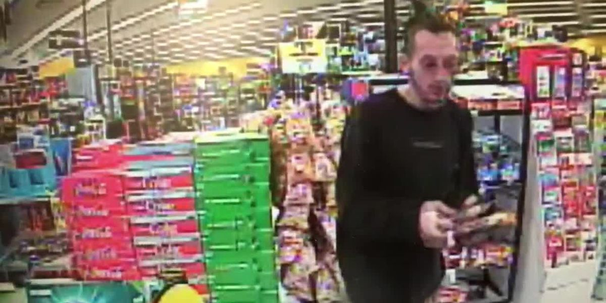 Police search for man who used stolen credit cards