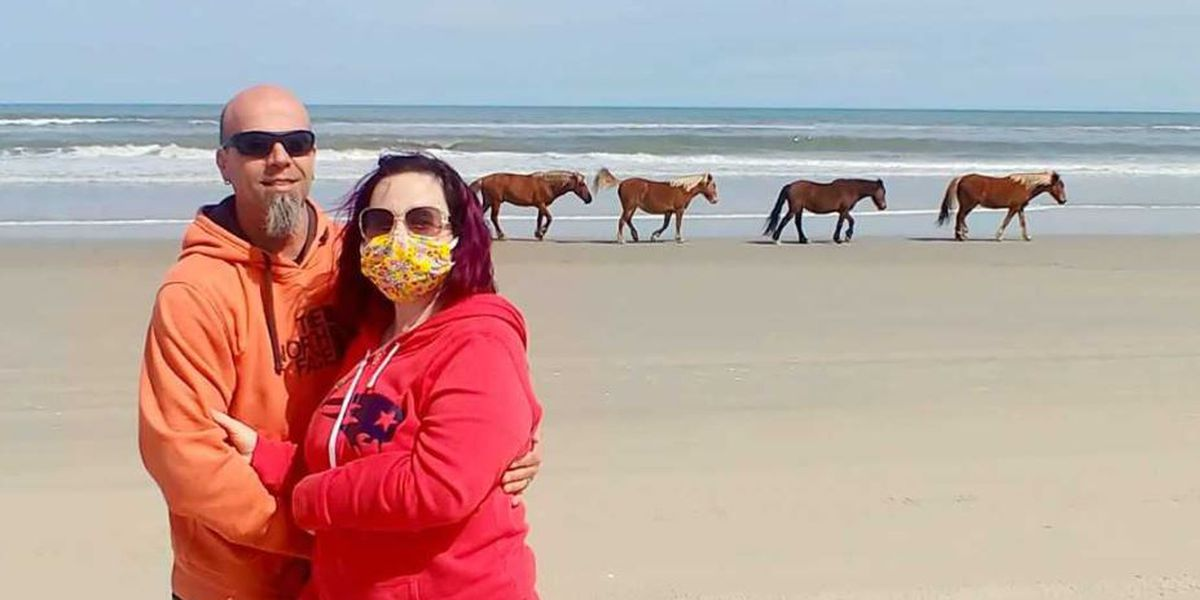 Newest foal in Outer Banks named after woman with terminal illness