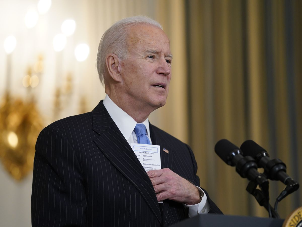 Biden vows enough vaccine for all US adults by end of May