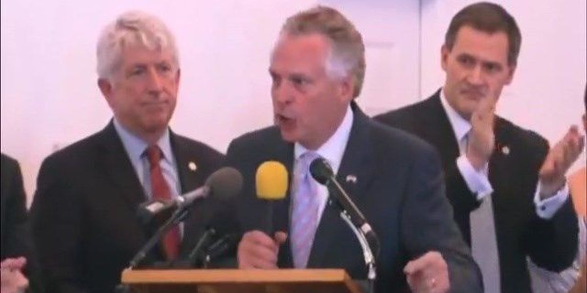 VA Gov. McAuliffe releases statement on 'Next steps after events in Charlottesville'
