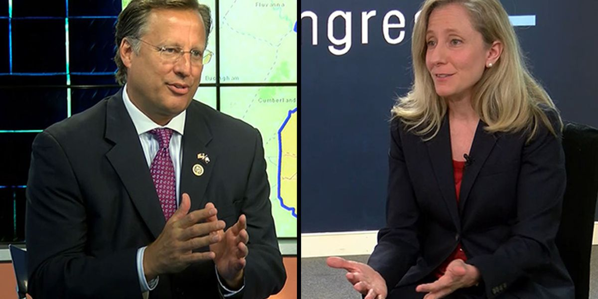 Brat, Spanberger in statistical tie a week out from election