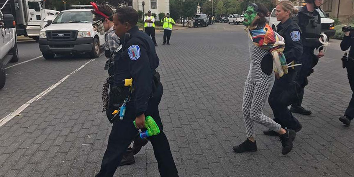 7 arrested after day of protests in Richmond