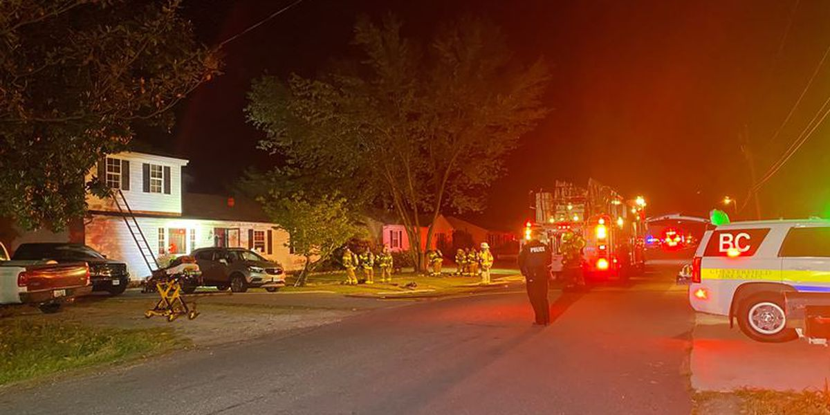 Family of 3 displaced after Chesterfield house fire