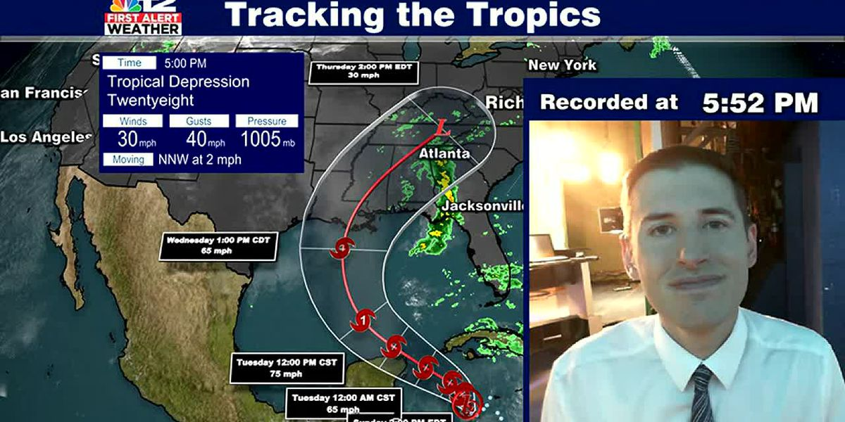 Tropical system likely brings rain to Virginia