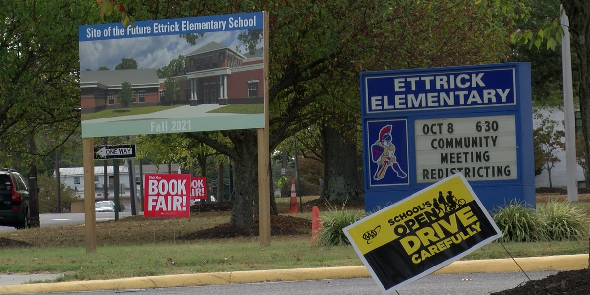 Chesterfield begins construction on new Ettrick Elementary