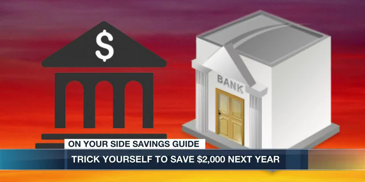 Here's how to save $2,000 dollars in 2020