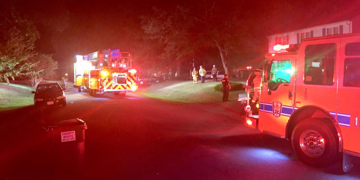 Family safe, firefighter treated after Chesterfield house fire
