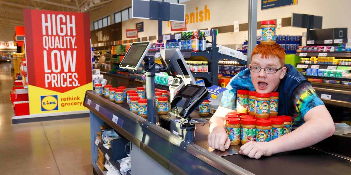 Lidl sells special peanut butter in support of Autism Awareness Month