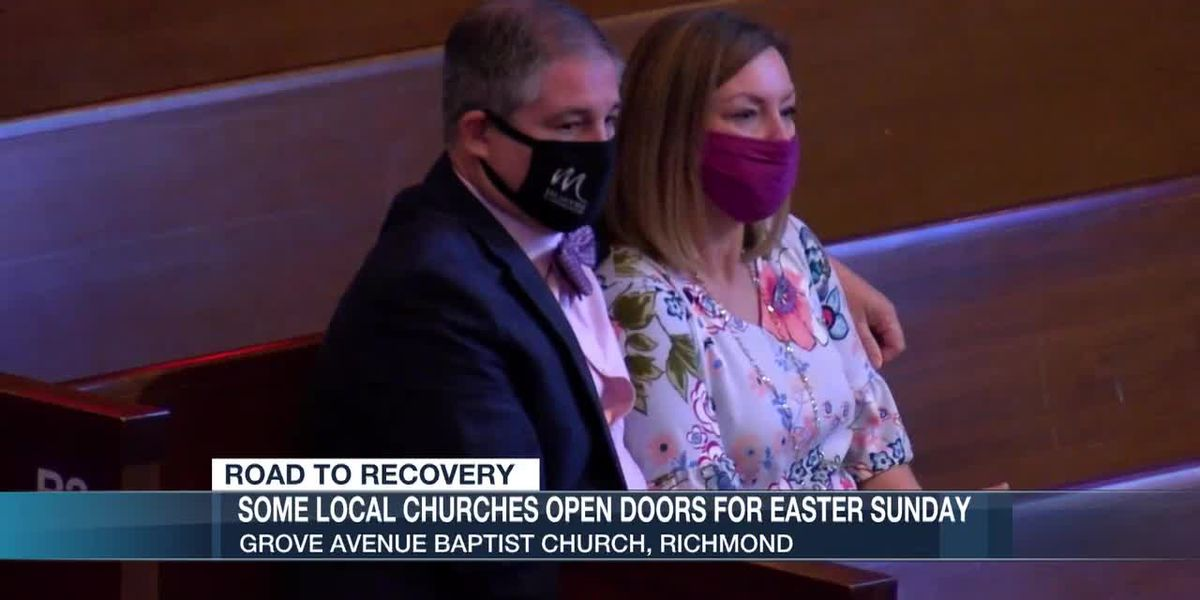 Some local churches open doors for Easter Sunday