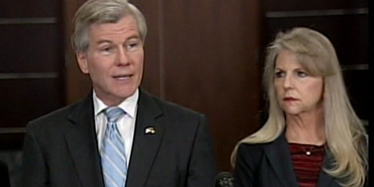 Former Gov. McDonnell files for divorce
