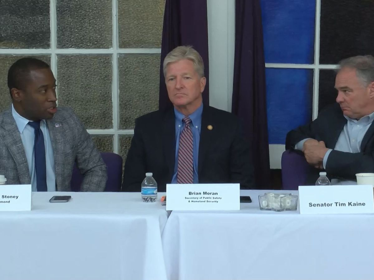 Senator Tim Kaine hosts gun violence roundtable in Richmond