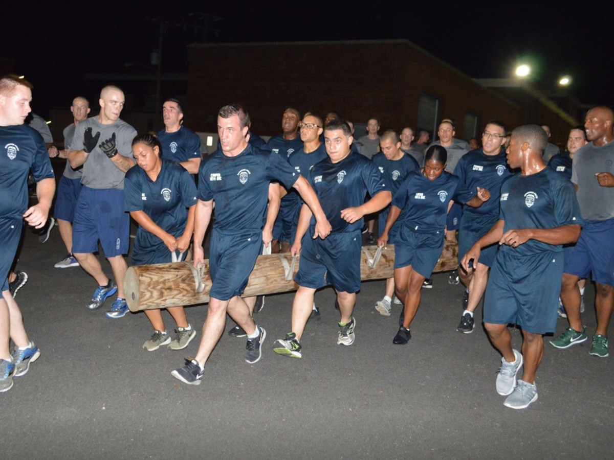 Virginia State Police, RPD face-off in fitness challenge