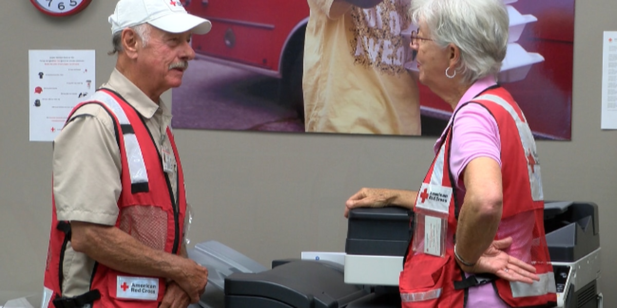 Red Cross calling for blood donations ahead of hurricane
